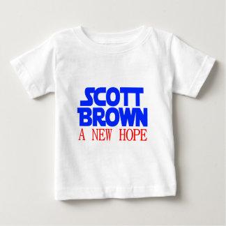 Scott Brown A New Hope Baby T-Shirt