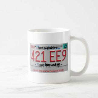 Scott Brown for Senate 2014 Coffee Mug