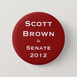 Scott Brown for Senate Button