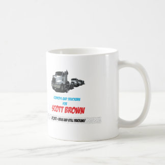 Scott Brown for truckers Coffee Mug