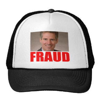 Scott Brown = FRAUD Trucker Hat