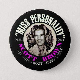 Scott Brown New Hampshire Senator 2014 Button