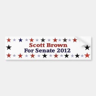 Scott Brown Republican Political Gear Bumper Sticker