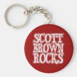 Scott Brown Rocks Keychains