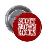 Scott Brown Rocks Pinback Buttons