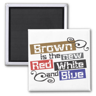 Scott Brown the new Red, White and Blue, NH Senate Fridge Magnet