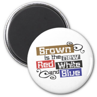 Scott Brown the new Red, White and Blue, NH Senate Refrigerator Magnets