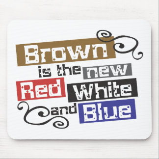 Scott Brown the new Red White and Blue NH Senate Mousepad
