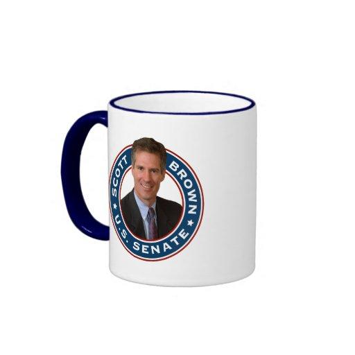 Scott Brown U.S. Senate Ringer Mug