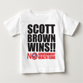 Scott Brown Wins! Baby T-Shirt