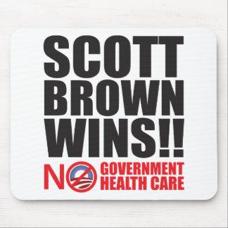 Scott Brown Wins! Mouse Pad