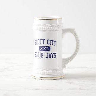 Scott City Blue Jays Middle Scott City Beer Stein