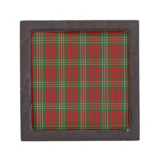 Scott Clan Family Tartan Keepsake Box