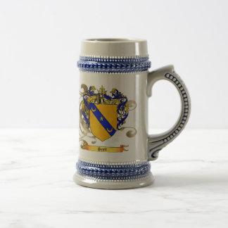 Scott Coat of Arms Beer Stein