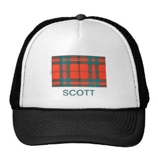SCOTT FAMILY TARTAN TRUCKER HAT