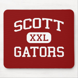 Scott - Gators - Junior - Winchester Tennessee Mouse Pad
