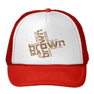 Scott histórico Brown Gorras De Camionero