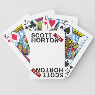 Scott Horton dor org Bicycle Playing Cards