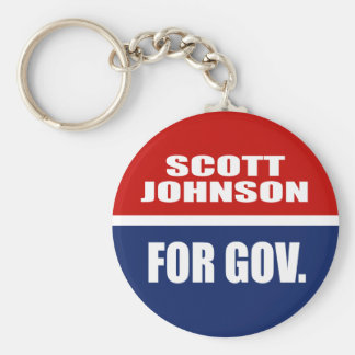 SCOTT JOHNSON FOR SENATE KEYCHAINS