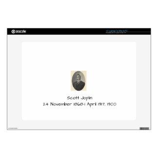 """Scott Joplin 15"""" Laptop Skin"""