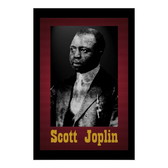 scott joplin 36 x 24 poster. Black Bedroom Furniture Sets. Home Design Ideas