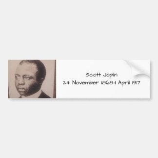 Scott Joplin Bumper Sticker