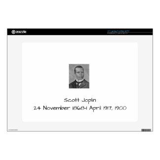"""Scott Joplin Decal For 15"""" Laptop"""