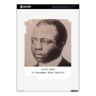 Scott Joplin Decal For iPad 3
