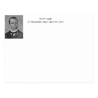 Scott Joplin Postcard