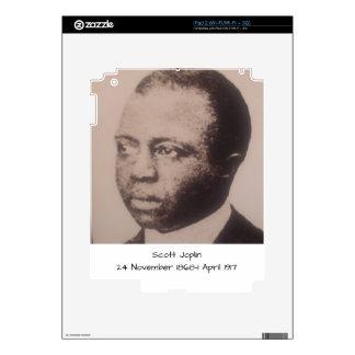 Scott Joplin Skin For iPad 2