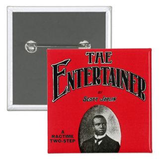 Scott Joplin Song Sheet Cover Pinback Button