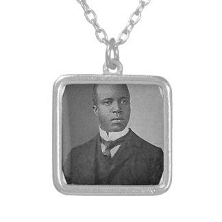 scott joplin square pendant necklace