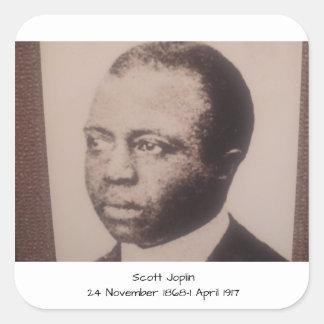 Scott Joplin Square Sticker