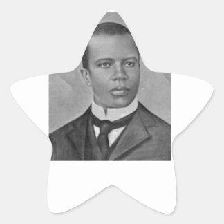 Scott Joplin Star Sticker