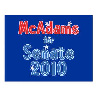 Scott McAdams for Senate 2010 Star Design Postcard