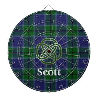 Scott Plaid with Celtic Knot Dart Board