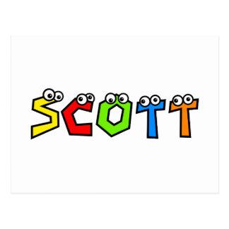 Scott Postcard