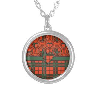 Scott Scottish clan tartan - Plaid Personalized Necklace
