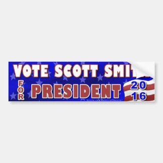 Scott Smith President 2016 Election Independent Bumper Sticker