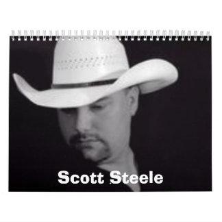 Scott Steele 2008 Calender Calendar