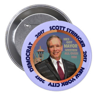 Scott Stringer for NYC Mayor 2017 Pinback Button