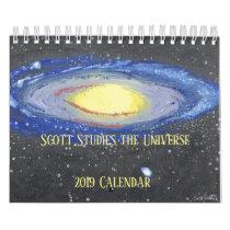 Scott Studies the Universe Calendar