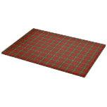 Scott Tartan Plaid Cutting Board