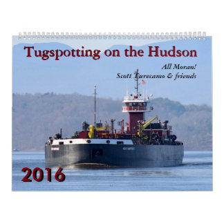 Scott Turecamo & friends Tugspotting 2016 Calendar