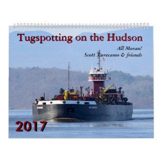 Scott Turecamo & friends Tugspotting 2017 Calendar