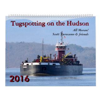 Scott Turecamo y calendario de Tugspotting 2016 de