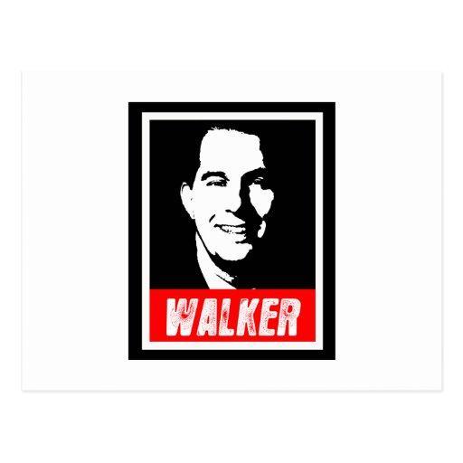 SCOTT WALKER 2012 POSTCARD