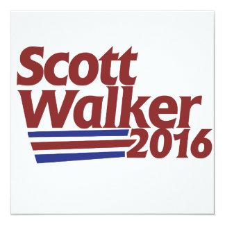 Scott Walker 2016 Card