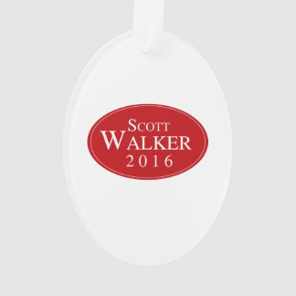 Scott Walker 2016 Red Oval Campaign