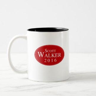 Scott Walker 2016 Red Oval Campaign Mug